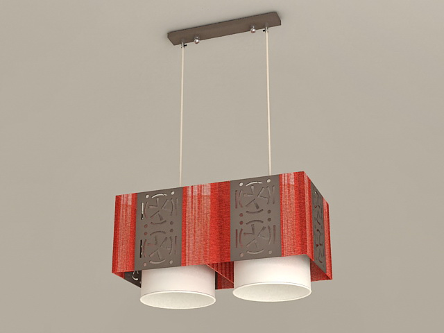 Kitchen Island Pendant Light 3d model