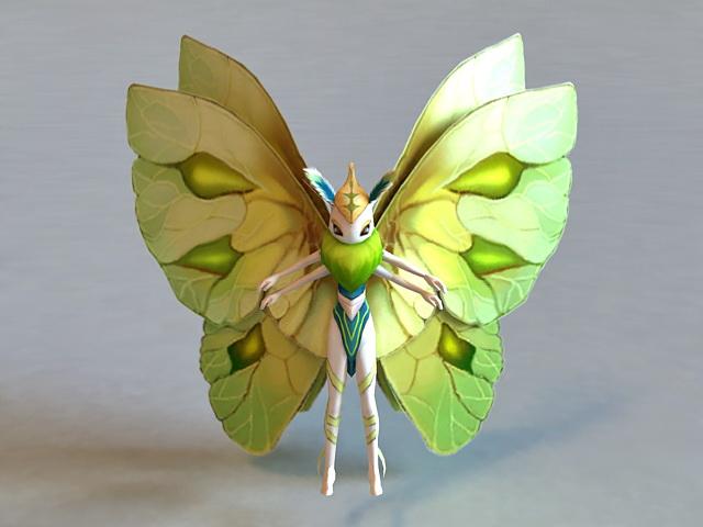 Butterfly Elf 3d model