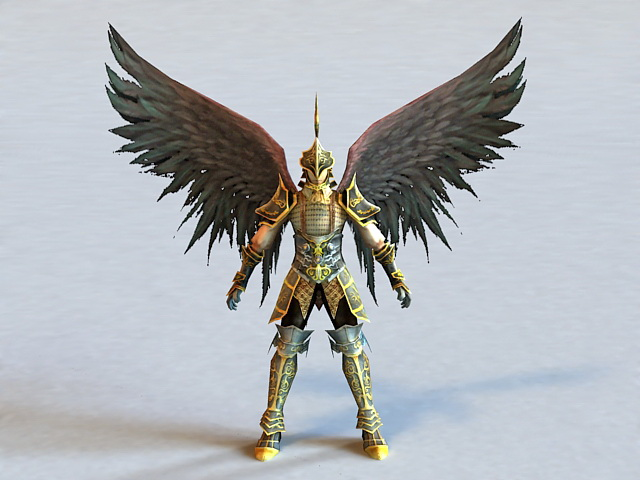 Dark Angel Knight 3d model