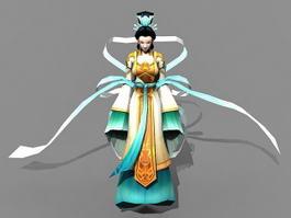 Chinese Goddesses 3d model