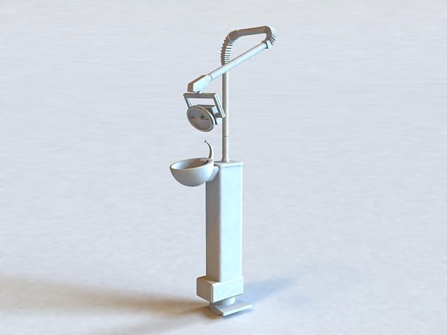 Dental Office Equipment 3d model