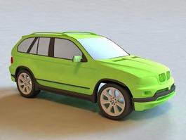 BMW X5 SUV 3d model