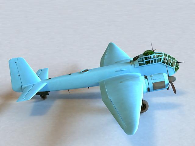 Junkers Ju 188 3d model