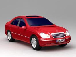 Mercedes C Class 3d model