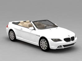 BMW 645Ci Convertible 3d model