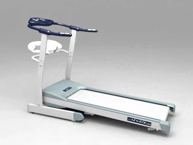 Exercise Treadmill 3d model