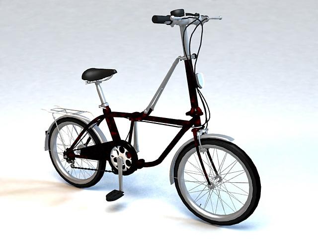 City Bike Bicycle 3d model