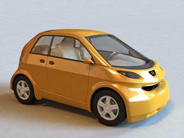 Hyundai Small Car 3d model