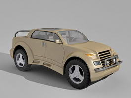 Pick Up SUV Concept 3d model