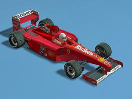 Ferrari F399 Formula One Car 3d preview
