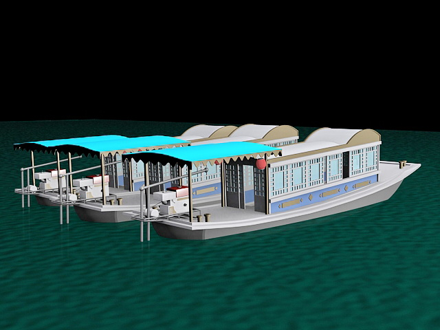 Pleasure Boats 3d model