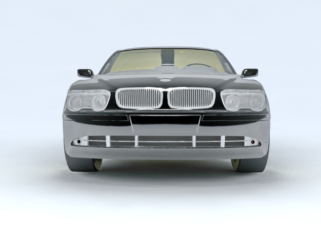BMW Sedan Car 3d model