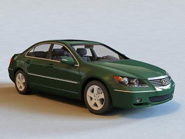Acura RL Sedan Car 3d model