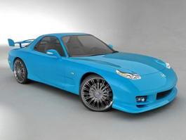 Mazda RX-8 Spirit R 3d model