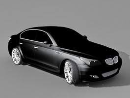 BMW 5 Series Executive Car 3d model