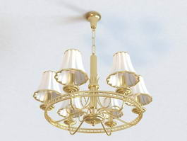 Millennium Chandelier 3d model