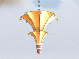 John Rosselli Lighting Fixture 3d model