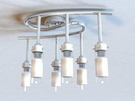 Modern Ceiling Lights 3d model