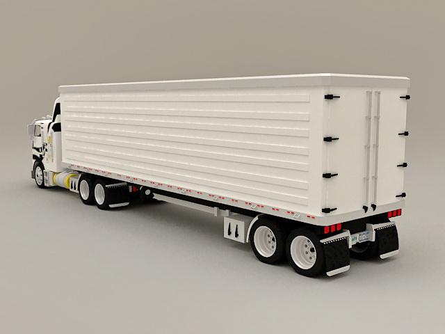Box Truck Container 3d model - CadNav