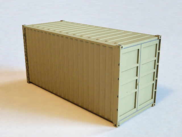 Cargo Shipping Container 48d Model 48ds Max Files Free Download Gorgeous Shipping Furniture Model