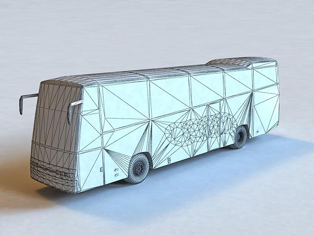 Volvo Bus 3d Model 3d Studio 3ds Max Autocad Cinema 4d Lightwave