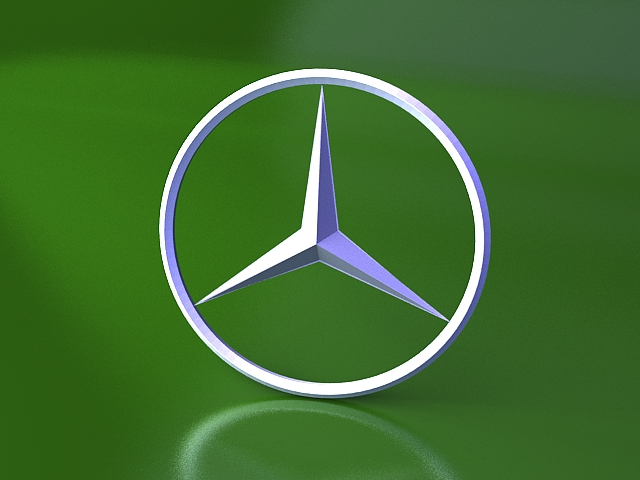 Mercedes benz logo 3d model 3ds max files free download modeling mercedes benz logo 3d model voltagebd