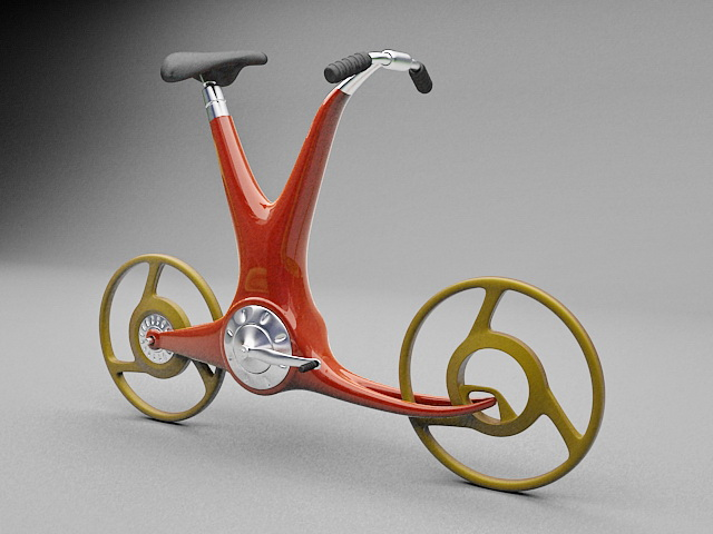 Modern Bicycle Design 3d model