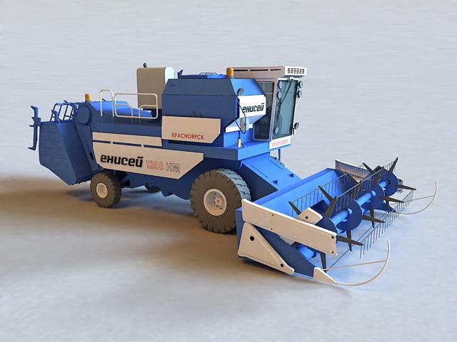 Harvesting Machine 3d model