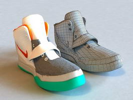 Nike Basketball Shoe 3d model