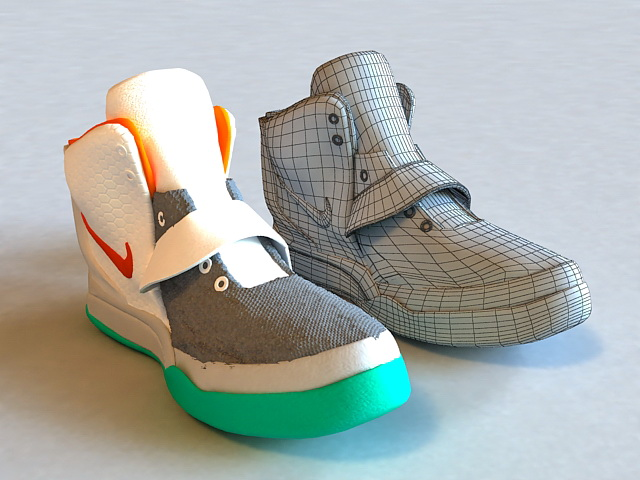 Nike Basketball Shoe 3d model 3ds Max,Cinema 4D,Autodesk ...