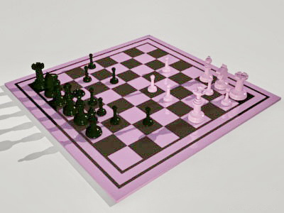 Chess Sets 3d model