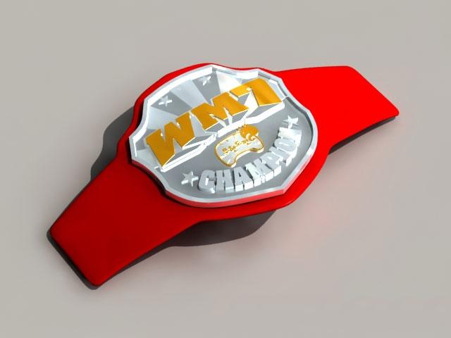Championship Belt 3d model 3ds Max,Autodesk FBX files free download