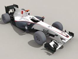 Sauber F1 Car 3d model