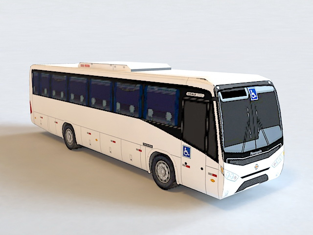 Marcopolo Coach Ideale 770 3d model