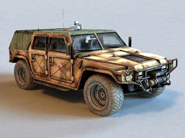 Joint Light Tactical Vehicle 3d model