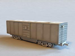 Freight Train Car 3d model