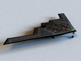 Northrop Grumman B-2 Spirit Bomber 3d model