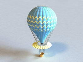 Hot Air Balloon 3d model