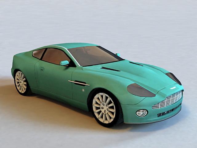 Aston Martin V12 Vanquish 3d model