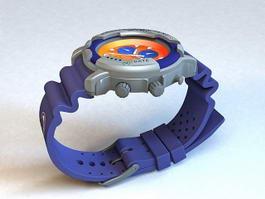 Racing Watches 3d model