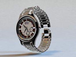 Men Wristwatch 3d model