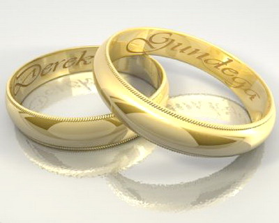 Wedding Rings 3d Model Cinema 4d Files Free Download Modeling