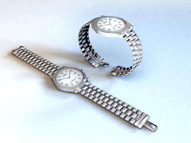 Casio Wrist Watches 3d model