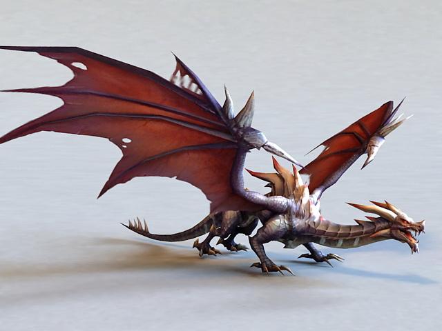 Dark Dragon 3d model