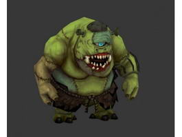 One Eyed Monster Cyclops 3d model