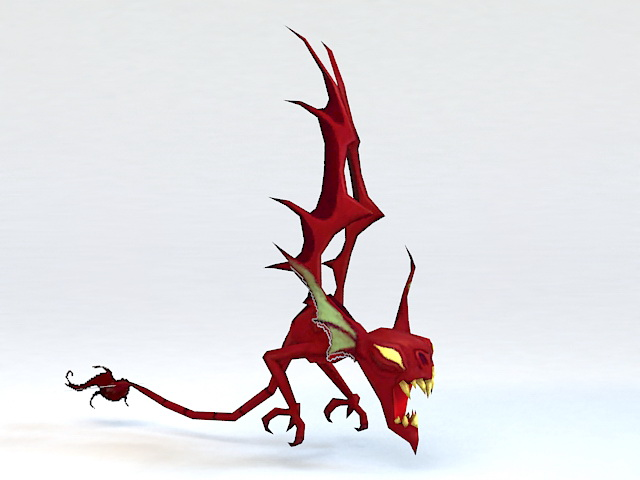 Little Demon 3d model