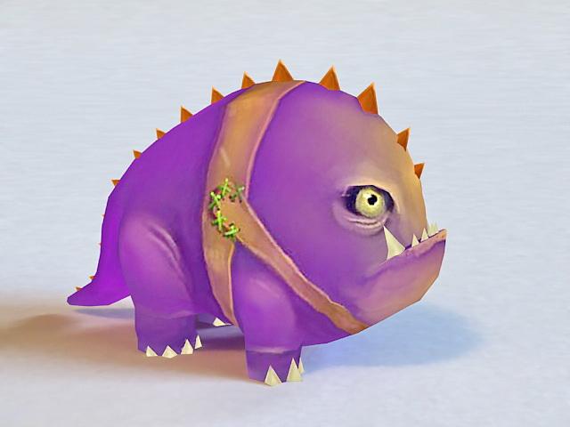 Cute Monster 3d model