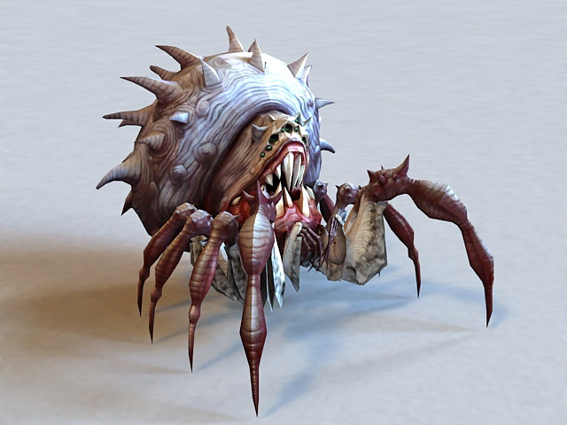 Monster Spider Queen 3d Model 3ds Max Files Free Download