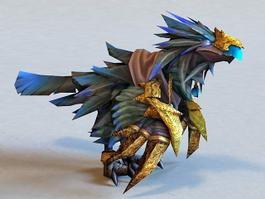 Warcraft Raven Lord 3d model