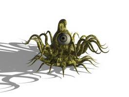 Octopus Sea Monster 3d model